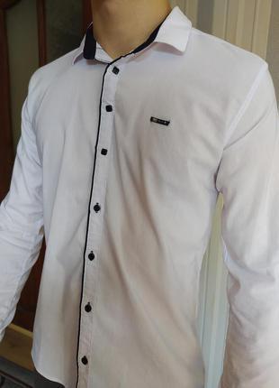 Белая рубашка (на подростка)