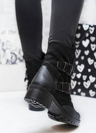 Хитовые ботинки из натурального нубука с затиркой. супер модель!5 фото