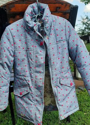 Зитмняя куртка-парка р.110