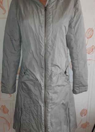 Стильное пальто/куртка napapijri с капюшоном, оригинал, made in indonesia