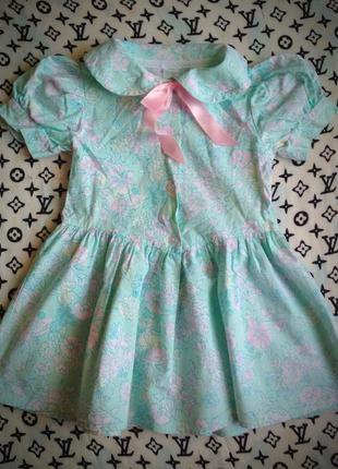 Кукольное платье на девочку