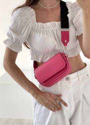 Маленькая сумка кросс-боди, сумка-клатч яркого цвета