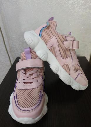 Кроссовки на девочку, длина стельки на фото