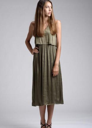 Платье сарафан комбинацыя