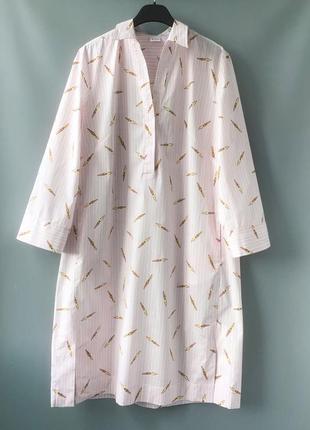 """Красивое платье-рубашка свободного кроя бренда archivio""""67, италия, 97% хлопок"""