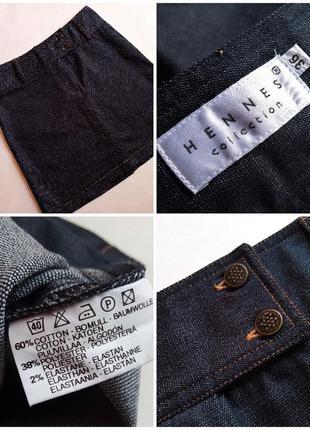 ✅базовая джинсовая юбка hennes collection