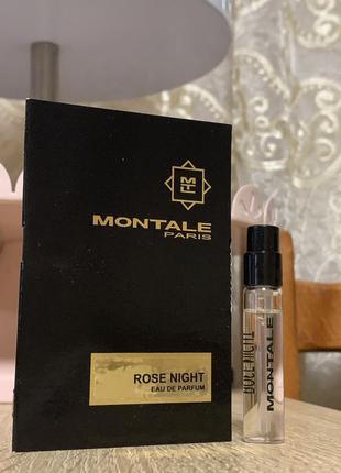 Пробник montale rose night 2 мл