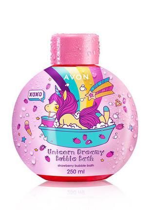 Дитяча піна для ванни «чарівні єдинороги», 250 мл