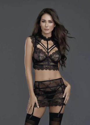 Комплект сексуального нижнего белья эротический набор