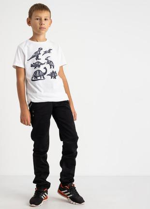 Джинсы мужские подростковые черные vigocc(3323)