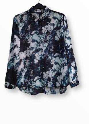 ‼️ summer sale ‼️мраморная рубашка