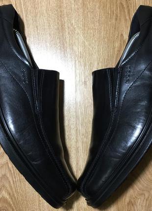 Классические кожаные туфли ecco(оригинал)р.46