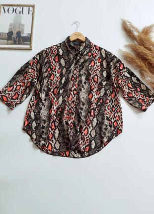 Красивая легкая блуза papaya