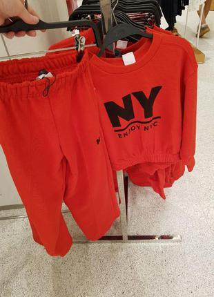 Плюшеві штани  і топ в спортивному стилі, zara, оригінал, з німеччини!