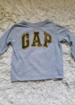 Хлопковый свитерок футболка gap