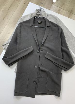 Трикотажный пиджак massimo dutti оригинал