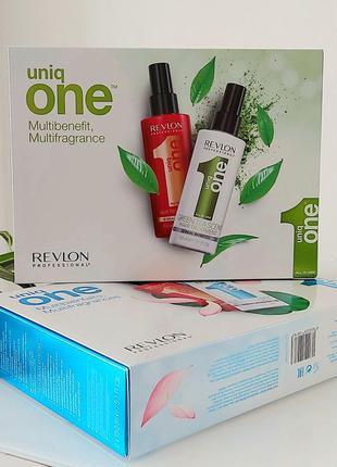 Набор спрей-масок для волос uniq one от бренда revlon professional.