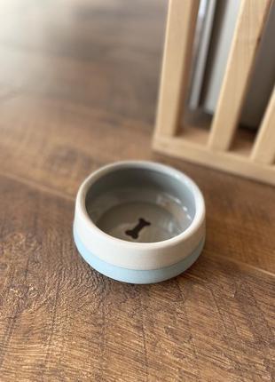 Миска керамiчна для собак i котiв