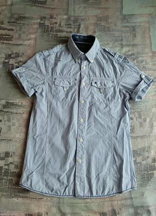 Женская брендовая хлопковая рубашка фирмы blue ridge.s-ка.
