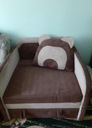 Дитячий диванчик мішка