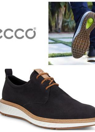 Кожаные туфли экко ecco st 1 hybrid оригинал р.44 новые португалия