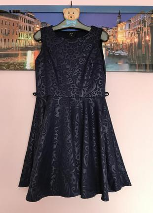 Шикарное нарядное платье , платье миди с принтом