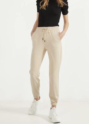 Спортивные штаны джогеры bershka xxs, джогери брюки штани спортивні жіночі bershka