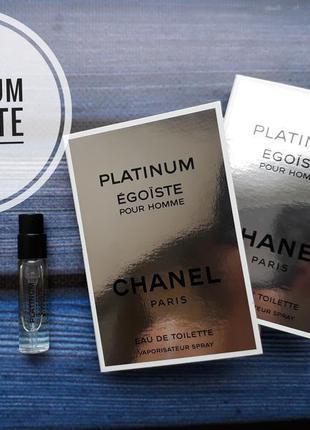 Пробник chanel egoiste platinum