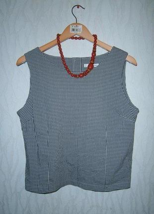 Клетчатая блуза от george артикул 100