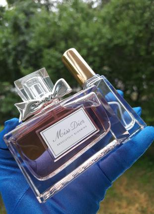 Распив❤miss dior absolutely blooming