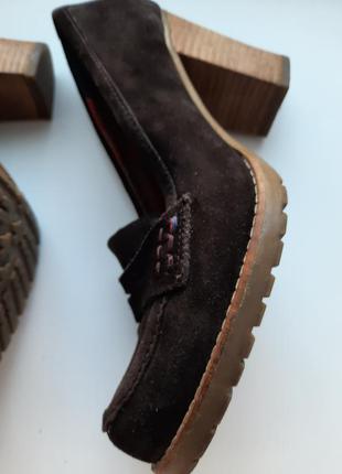 Туфли кожаные оригинал tommy hilfiger томи хилфигер