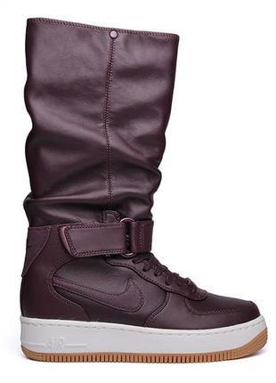 Кожаные зимние сапоги/кроссовки nike