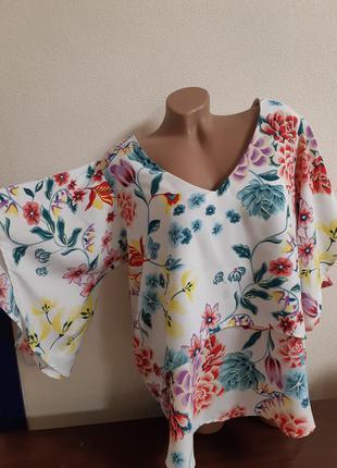 Супер нарядная блуза 16р