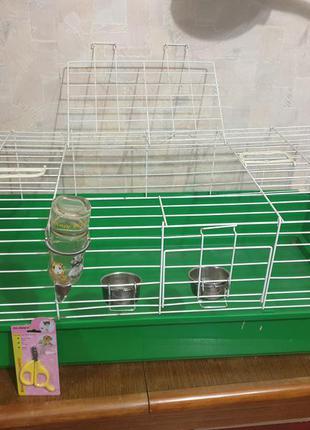 Клетка для морских свинок/кролика 100/50