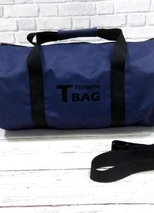 Удобная вместительная спортивная сумка triumph bag. отлично подойдет для похода в спортзал, поездок.