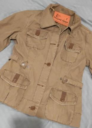 Летний пиджак курточка в этно деревенский стиль р.хс,с