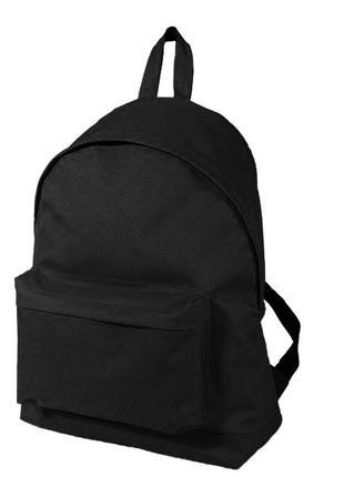 Рюкзак черный недорого р-015