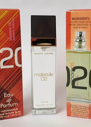 Акция! molecule 02 мини парфюм дорожная версия 40 мл очень стойкие