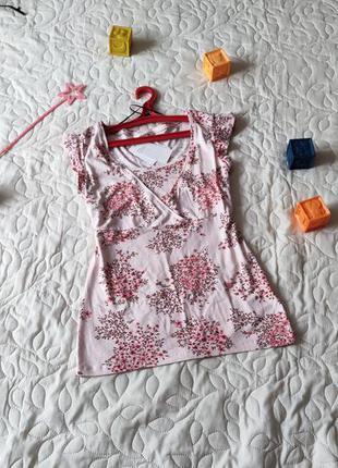 Майка для кормления h&m mama топ для кормящих мам годуючих матусь годування футболка для вагітності беременности беременных вагітних блуза