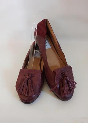 Мокасины,балетки женские bertie.брендове взуття stock