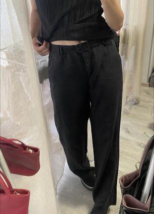 Льняные штаны (очень стильные)  ‼️ (срочная продажа вещей по низким ценам!)