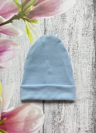 Крутая трикотажная шапка двойная размер 50-54см