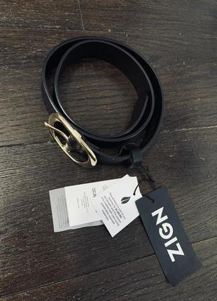 Кожаный ремень zign, германия 🇩🇪, оригинал,премиум качество