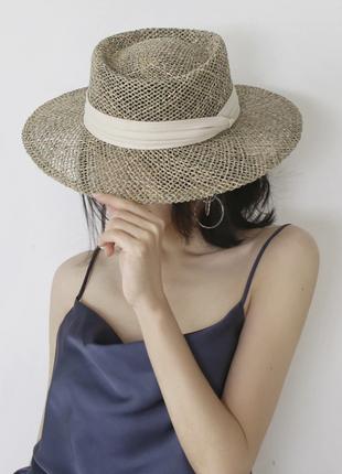 Гениальная шляпа из  травы!