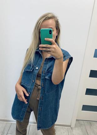 H&m акционная цена, джинсовая куртка,тренд