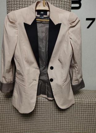 Пиджак , жакет приталенный