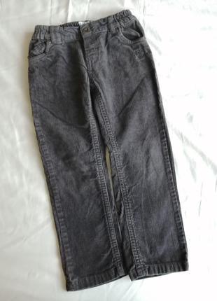Вельветовые джинсы chicco на 4 года