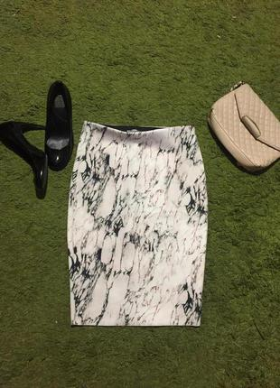 Шикарная юбка миди zara