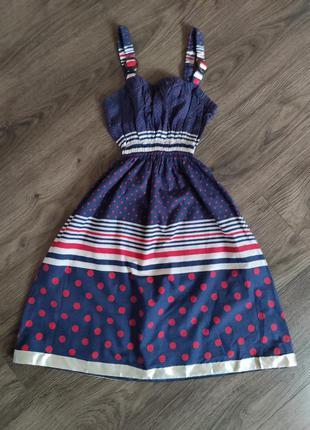 Трендовый сарафан платье