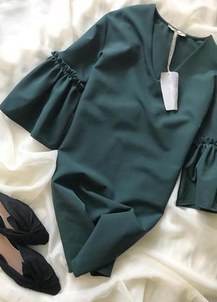 Платье италия mivite рукав волан